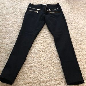 Michael kors black zip